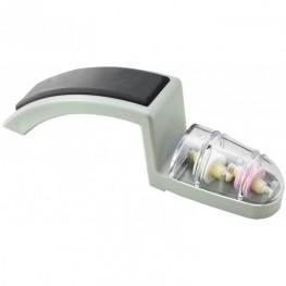 GLOBAL MinoSharp Ceramiczna ostrzałka wodna do noży - Szaro-czarna 220GB