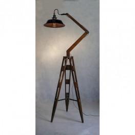 Lampa podłogowa industrialna GARRY trójnóg