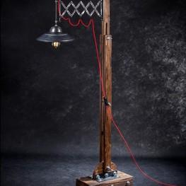 Lampa nożycowa podłogowa TAVERN industrialna loft