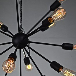Lampa industrialna wisząca SPIDER 16 p loft