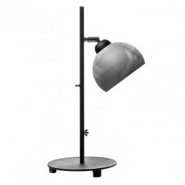 Lampa stołowa industrialna MOON - Beton