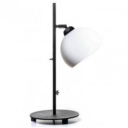 Lampa stołowa industrialna MOON - Biała