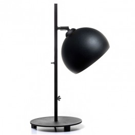 Lampa stołowa industrialna MOON - Czarna