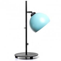 Lampa stołowa industrialna MOON - Miętowa