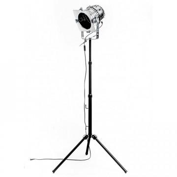 Lampa industrialna MANHATTAN - Lampa podłogowa loft reflektor