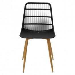 SIMPLET Krzesło KLAUS Czarne
