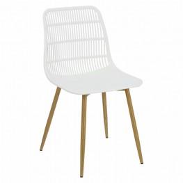SIMPLET Krzesło KLAUS Białe