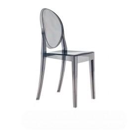 Krzesło VICTORIA Transparentne Dymione GHOST