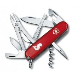 VICTORINOX Scyzoryk Angler - Czerwony 1.3653.72