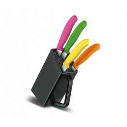 VICTORINOX Zestaw - Blok na noże do steków ipizzy - 4elementy 6.7126.4