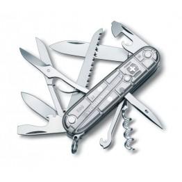 VICTORINOX Scyzoryk Huntsman - SilverTech srebrny 1.3713.T7