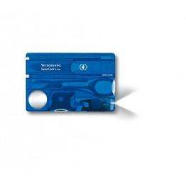 VICTORINOX Karta SwissCard Lite - Niebieski transparentny 0.7322.T2