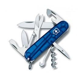 VICTORINOX Scyzoryk Climber - Niebieski przezroczysty 1.3703.T2
