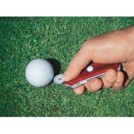 VICTORINOX Scyzoryk GolfTool - Czerwony transparentny 0.7052.T
