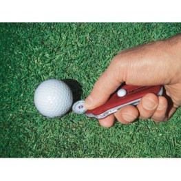 VICTORINOX Scyzoryk GolfTool - Niebieski przezroczysty 0.7052.T2