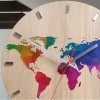 Zegar ścienny PLANET COLOR