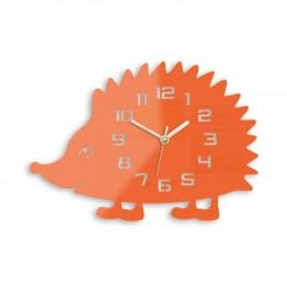 Zegar ścienny JEŻ - Pomarańczowy