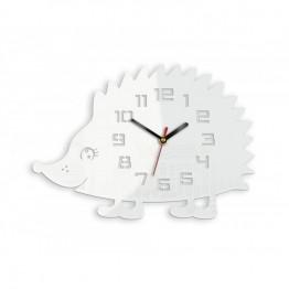 Zegar ścienny JEŻ - Biały