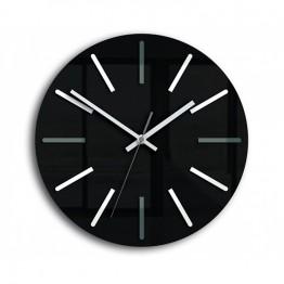 Zegar ścienny HENRY czarny / biały / szary