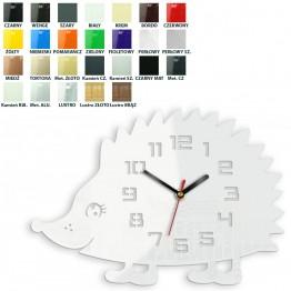 Zegar ścienny JEŻ - Różne kolory