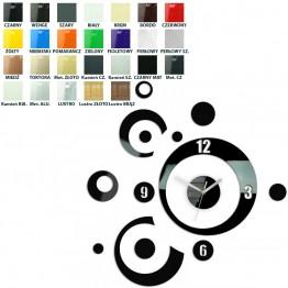 Zegar ścienny KOŁA 2 - Różne kolory