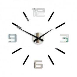 Zegar ścienny SYNTAX  - Lustro / Czarny