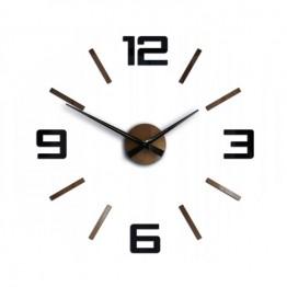 Zegar ścienny SYNTAX  - Czarny / Miedziany