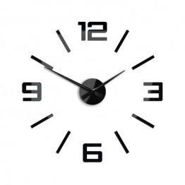 Zegar ścienny SYNTAX  - Czarny
