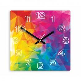 Zegar ścienny TĘCZA - Cyfry