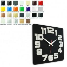 Zegar ścienny COMIC  - Różne kolory