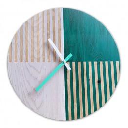 Zegar ścienny SCANDI STRIPES