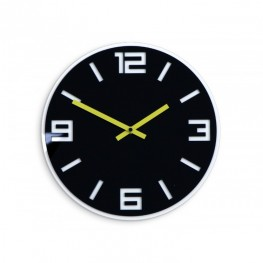 Zegar ścienny MODERN - Czarny