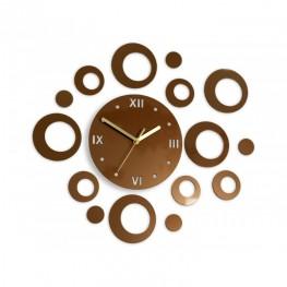 Zegar ścienny KOŁA Deluxe - Metalic MIEDŹ