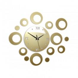 Zegar ścienny KOŁA Deluxe - Metalic ZŁOTO