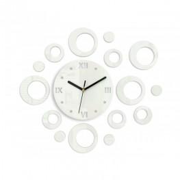 Zegar ścienny KOŁA - Biały