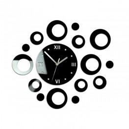Zegar ścienny KOŁA - Czarny