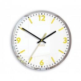 Zegar ścienny HELIOS - Żółty