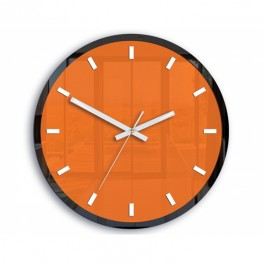 Zegar ścienny Roxy - Pomarańczowy