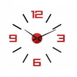 Zegar ścienny SYNTAX  - Czerwony
