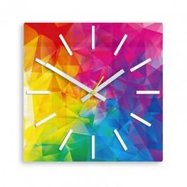 Zegar ścienny TĘCZA - Indeksy