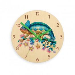 Zegar ścienny dziecięcy CAMELEON